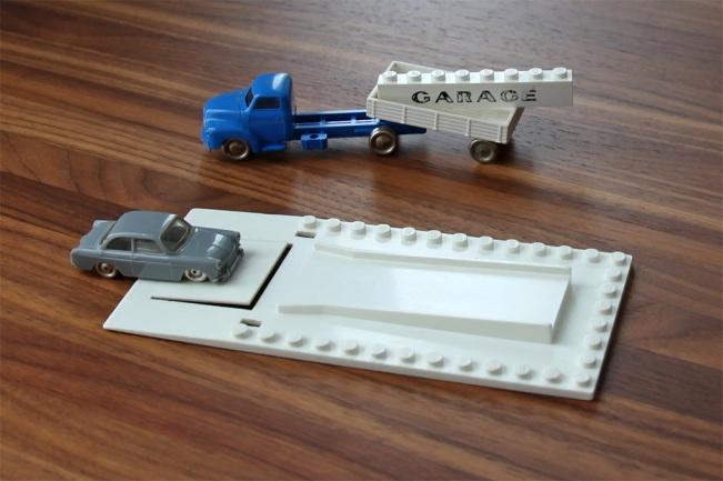 1960s Town Plan - Garage baseplate