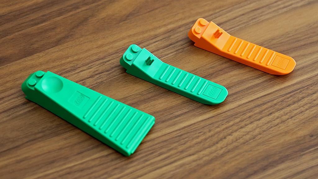 LEGO Green Brick Separator Tool