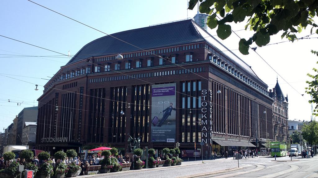 Stockmann Helsinki Laukut : Stockmann helsinki quest for bricks