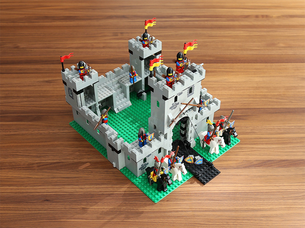Almost A Lion Knights Castle Quest For Bricks