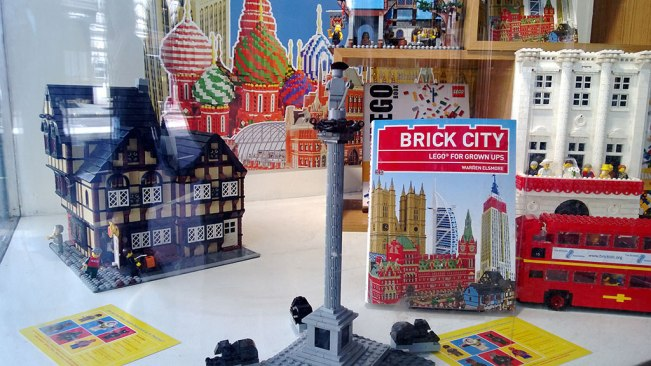 Brick City at Waterstones