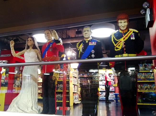 Royal Family at Hamleys