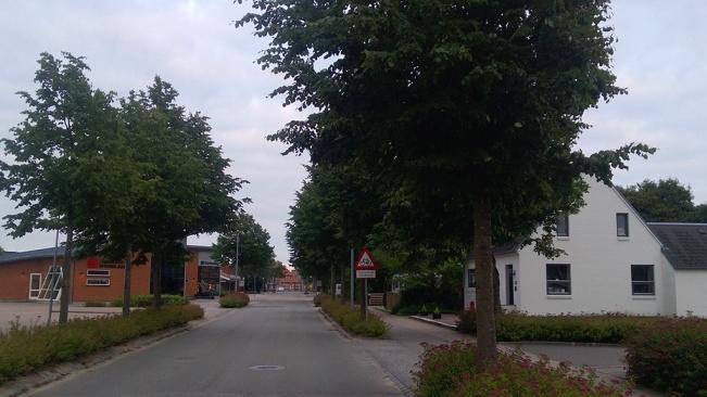 On the streets of Billund - Main Street