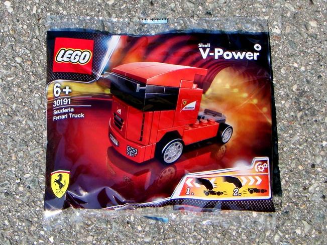 Shell's Ferrari LEGO