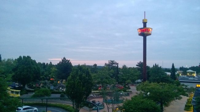 Views from Hotel LEGOLAND