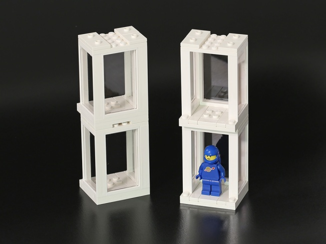 850423 Minifigure Presentation Boxes