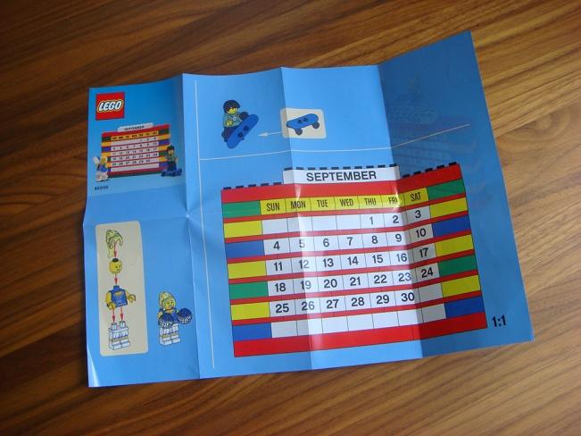 853195 Brick Calendar