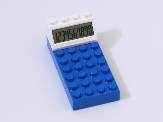 Homade brick calculator