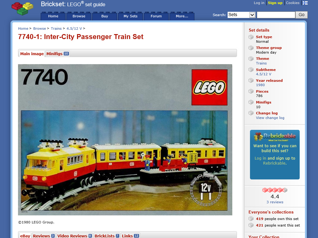 How much of a 1980 lego train can you get new quest for