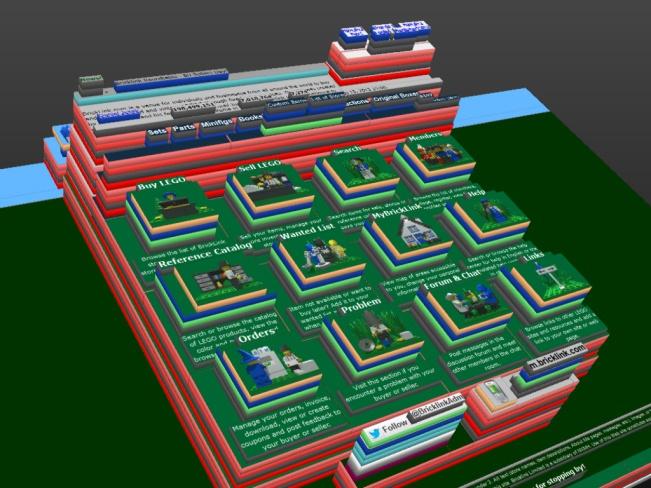 Online LEGO repositories
